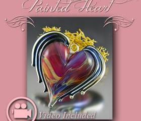 Lampwork Tutorial - Painted Heart
