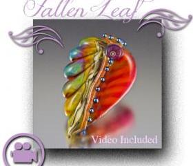 Lampwork Tutorial - Fallen Leaf
